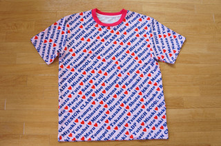 デカプリ(全面プリントTシャツ)製作例