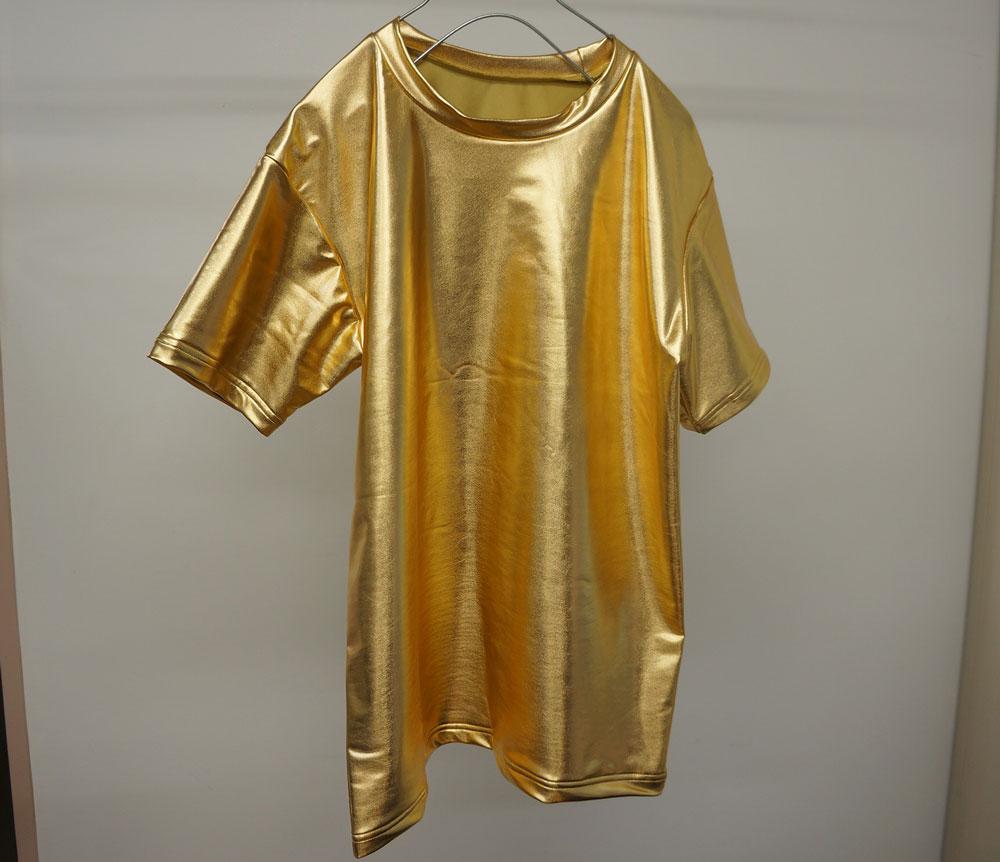 ゴールドTシャツ!
