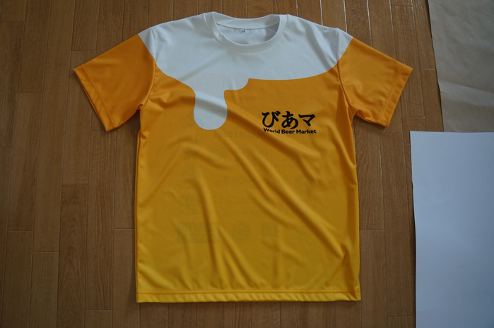 Tシャツの全面にプリントするならADPです!