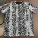 総柄プリントTシャツ全行程を内製化しました。